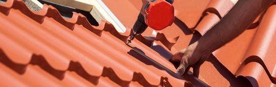 save on Down roof installation costs